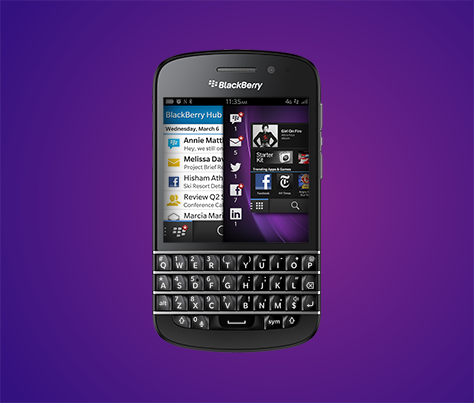 The New Blackberry Q10