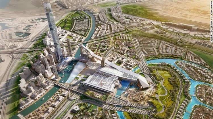 The Meydan One - The estimated $8.6 billion scheme is scheduled for completion in time for the UAE's hosting of World EXPO 2020, with construction already underway.