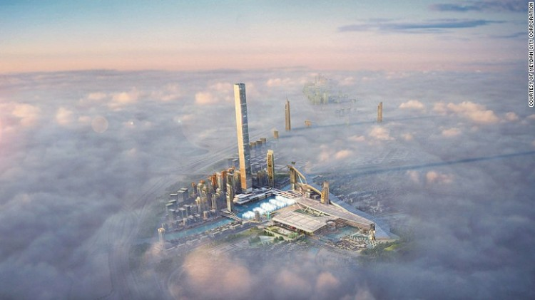 Waterpark, Lagoon and more - A lavish new project that includes the world's tallest residential tower and highest 360-degree observation deck (711 meters), highest restaurant (675 meters), largest dancing fountain (420 meters) and longest indoor ski slope (1.2 kilometers long and 180 meters high).